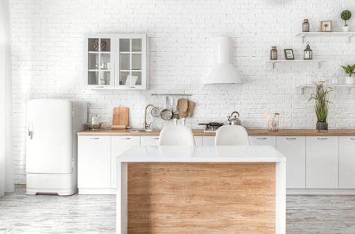 Tủ bếp gỗ SaigonDoor đảm bảo chất lượng và tình thẩm mỹ cao.